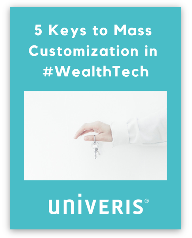 Whitepaper - 5 keys to mass customization in wealthtech - blue